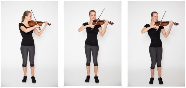 Tư thế chơi violin