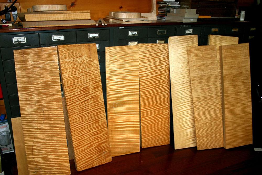 xem loại gỗ làm đàn violin