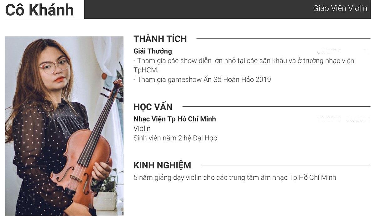 CV Gia Khanh - website