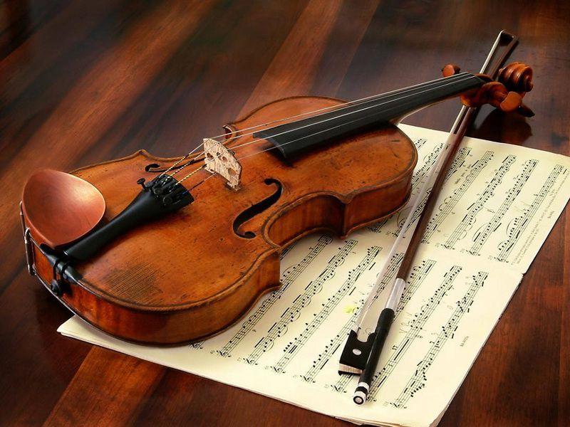 bản nhạc violin